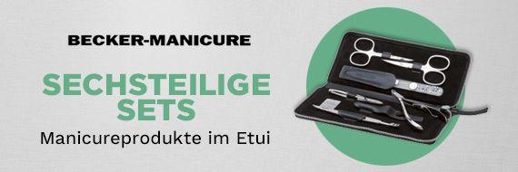 becker manicure erbe collection manicure sets sechsteilige. Black Bedroom Furniture Sets. Home Design Ideas