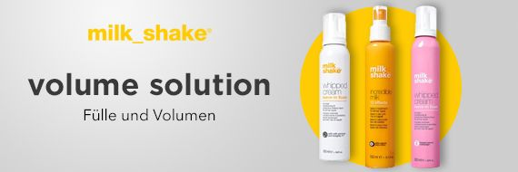 Milk Shake Volumen Solution