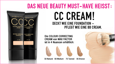 Max Factor CC CREAM!