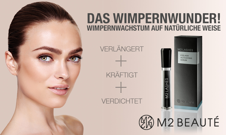 M2 Lashes Wimpernwachstumsserum