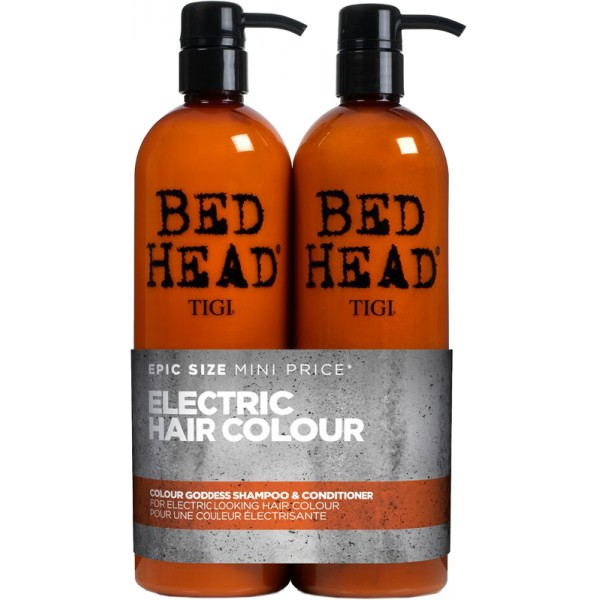 aktion tigi bed head colour goddess tween duo shampoo. Black Bedroom Furniture Sets. Home Design Ideas