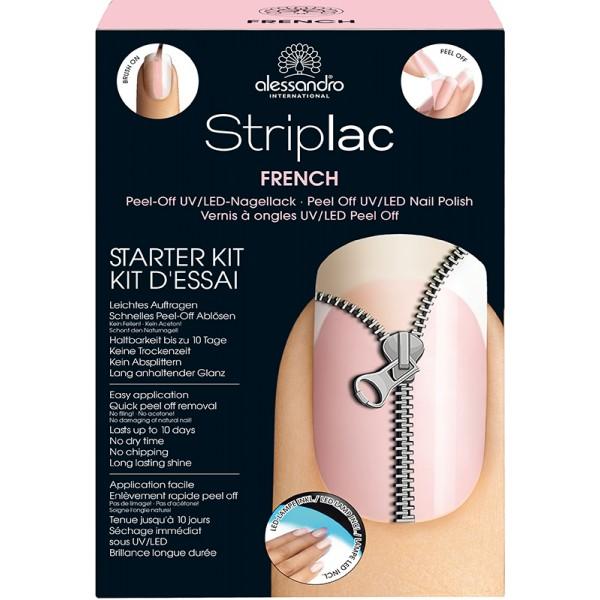 alessandro striplac starter kit french 101 60. Black Bedroom Furniture Sets. Home Design Ideas