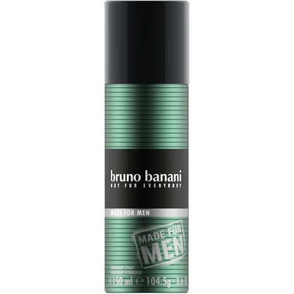 bruno banani made for men deo aerosol spray 150 ml 3 48. Black Bedroom Furniture Sets. Home Design Ideas