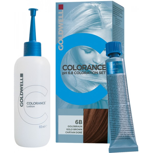 Goldwell Colorance pH 6,8 Set rotbuche mittel 6RB