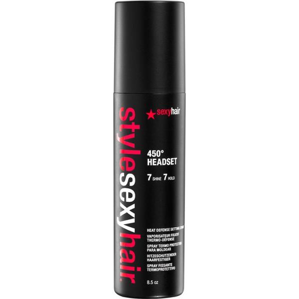 Sexyhair Style 450? Headset Heat Defense Setting Spray 250 ml, 15