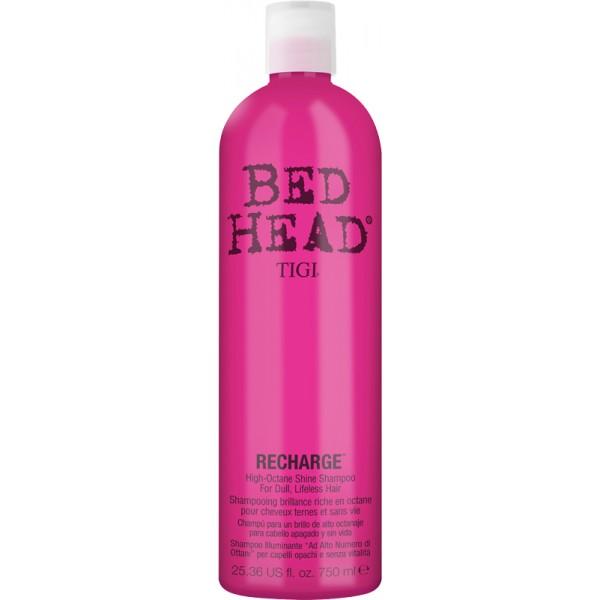 tigi bed head recharge high octane shine shampoo 750 ml 17 49. Black Bedroom Furniture Sets. Home Design Ideas