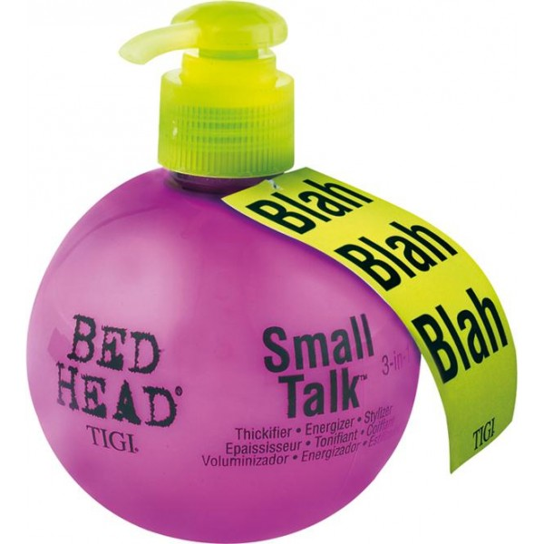 tigi bed head small talk mini 125 ml 6 68. Black Bedroom Furniture Sets. Home Design Ideas