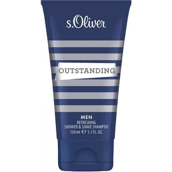 s oliver outstanding men shower gel duschgel 150 ml 8 76. Black Bedroom Furniture Sets. Home Design Ideas