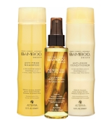 Aktion - Alterna Bamboo Smooth Trio Shampoo 250 ml + Conditioner 250 ml + Haar-Öl 125 ml Set