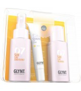 Aktion - Glynt Sun & Beauty Care Shampoo + Conditioner + Sensitive Lip Care