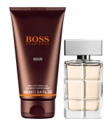 Aktion - Hugo Boss Boss Orange Man Geschenkset (EdT40/SG100)
