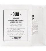Aktion - L:A Bruket Duo-Kit Body Wash + Hand Cream Sage/Rosemary/Lavender