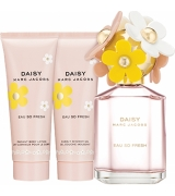 Aktion - Marc Jacobs Daisy Eau So Fresh Geschenkset (EdT75/BL75/SG75)
