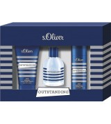 Aktion - s.Oliver Outstanding Men Geschenkset Trio (EdT30/SG75/Deo50)