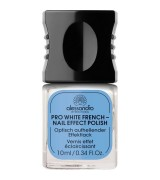 Alessandro Brighten & Whiten Pro White French Effektlack 10 ml