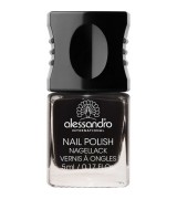 Alessandro Colour Code 4 Nail Polish 77 Midnight Black 5 ml