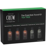 American Crew Essentials Travel Kit Tea Tree