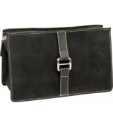 Erbe Collection Kulturtasche, braun, 26,0 x 16,0 cm