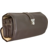 Erbe Collection Kulturtasche, braun,  27,0 x 18,0 cm
