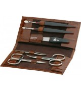 Erbe Collection sechsteiliges Manicure Set im Etui mit...
