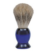 Erbe Shaving Shop Rasierpinsel blau