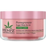 Hempz Pomegranate Body Sugar Scrub 176 g