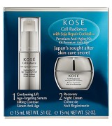 Kosé Cell Radiance Soja Repair Cocktail Premium Anti-Aging Kit 2 x 15 ml