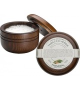 Mondial Luxury Shaving Cream Wooden Bowl 140 ml