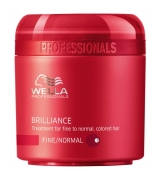 Wella Care³ Brilliance Mask 150 ml (Feines/Normales/Coloriertes Haar)