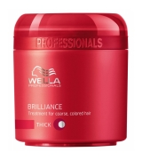 Wella Care³ Brilliance Mask 150 ml (Kräftiges/Coloriertes Haar)