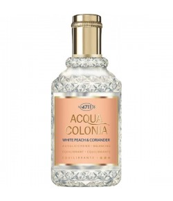 4711 Acqua Colonia White Peach & Coriander Eau de Cologne (EdC) Spray 50 ml