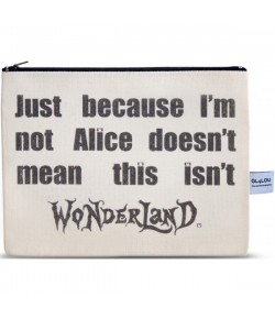 4LOU Vanity Bag Wonderland - 100% Canvas Swarovski Applikationen