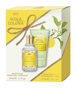 Aktion - 4711 Acqua Colonia Lemon & Ginger Geschenkset (EdC50/SG75)