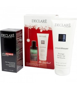 Aktion - Declare For Men Pflegeset After Shave Gel + Duschgel