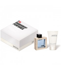 Aktion - Dsquared He Wood Ocean Wet Wood Geschenset (EdT50/SG100)