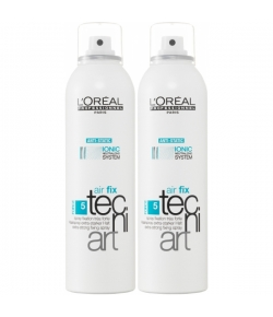 Aktion - L'Oreal Professional Tecni.Art Air Fix Extra Stark 250 ml + gratis Air Fix Extra Stark 250 ml