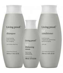 Aktion - Living proof Full Shampoo + Conditioner + Thickening Cream