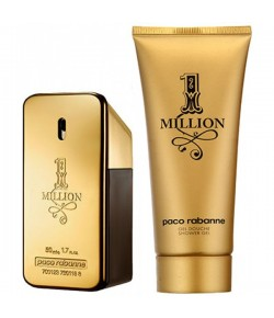 Aktion - Paco Rabanne One Million Geschenkset (EdT50/SG100)