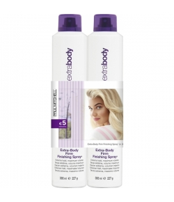 Aktion - Paul Mitchell Extra-Body Save On Duo Extra-Body Firm Finishing Spray 2 x 300 ml