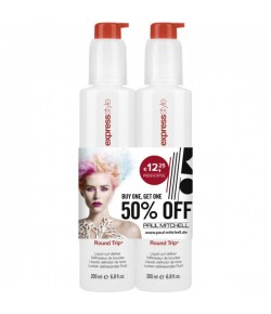 Aktion - Paul Mitchell Round Trip 2 x 200 ml  - Buy One, Get One 50% Off