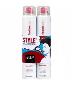 Aktion - Paul Mitchell Spray Wax 2 x 125 ml  - Buy One, Get One 50% Off