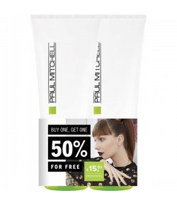Aktion - Paul Mitchell Straight Works 2 x 200 ml  - Buy One, Get One 50% Off
