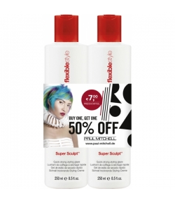 Aktion - Paul Mitchell Super Sculpt 2 x 250 ml  - Buy One, Get One 50% Off