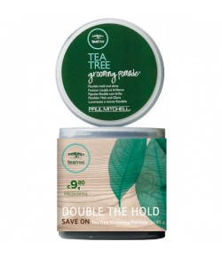 Aktion - Paul Mitchell Tea Tree Grooming Pomade 2 x 85 g  - Buy One, Get One 50% Off