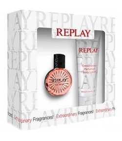 Aktion - Replay Essential for Her Geschenkset (EdT20/BL100)