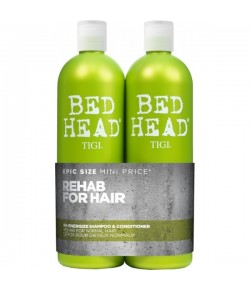 Aktion - Tigi Bed Head Re-Energize Tween Duo Shampoo + Conditioner 2 x 750ml