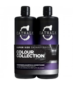 Aktion - Tigi Catwalk Fashionista Tween Duo Shampoo + Conditioner 2 x 750 ml
