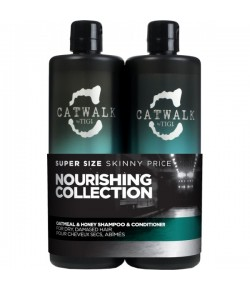 Aktion - Tigi Catwalk Oatmeal & Honey Tween Duo Shampoo + Conditioner 2x 750 ml