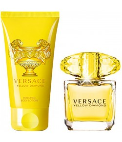 Aktion - Versace Yellow Diamond Geschenkset (EdT30/BL50)