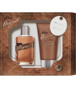 Aktion - s.Oliver Original Men Geschenkset Duo (EdT30/SG75)